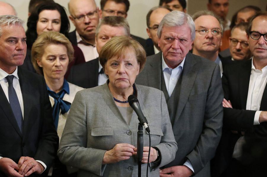 Никто не хочет Ангелу Меркель. Немецкий тупик