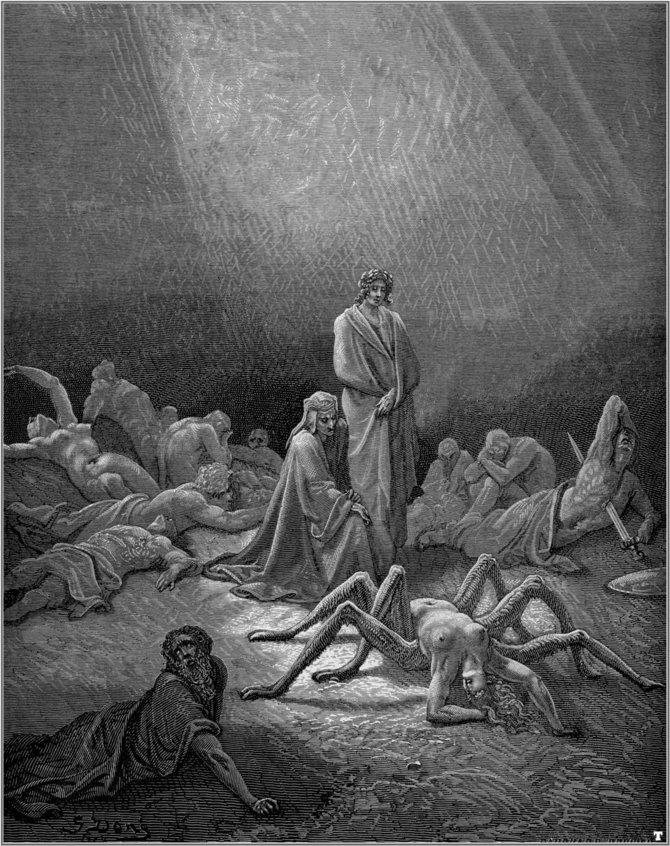 Гюстав Доре. Иллюстрации к Божественной Комедии Данте