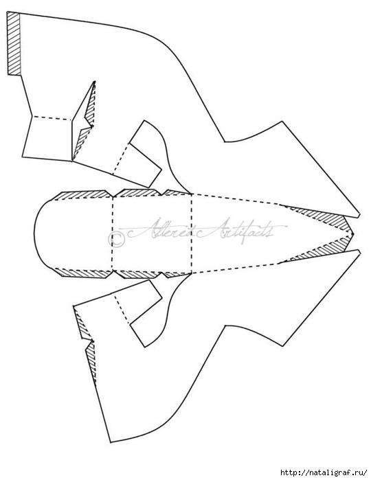 Как сделать туфельку золушки своими руками