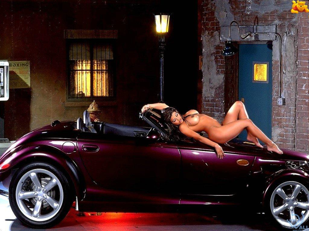 Голые девушки и авто фото