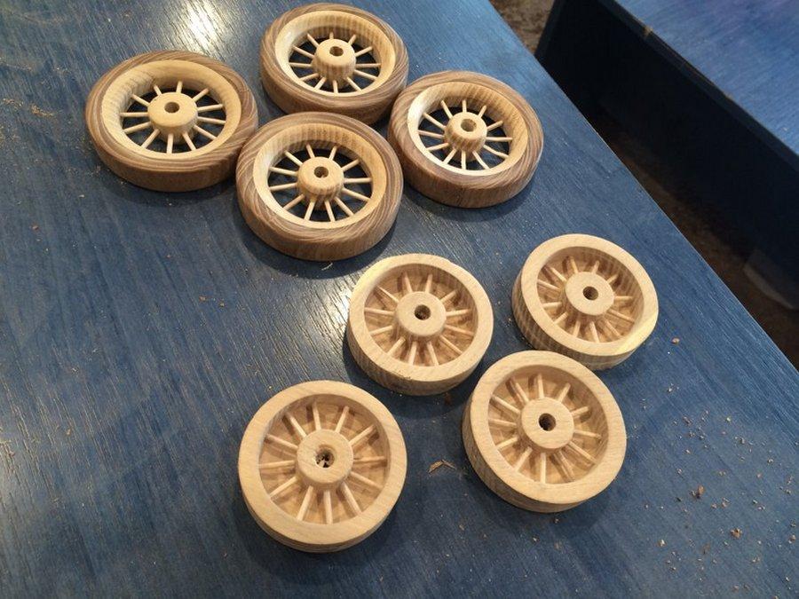 Как сделать колеса для игрушки