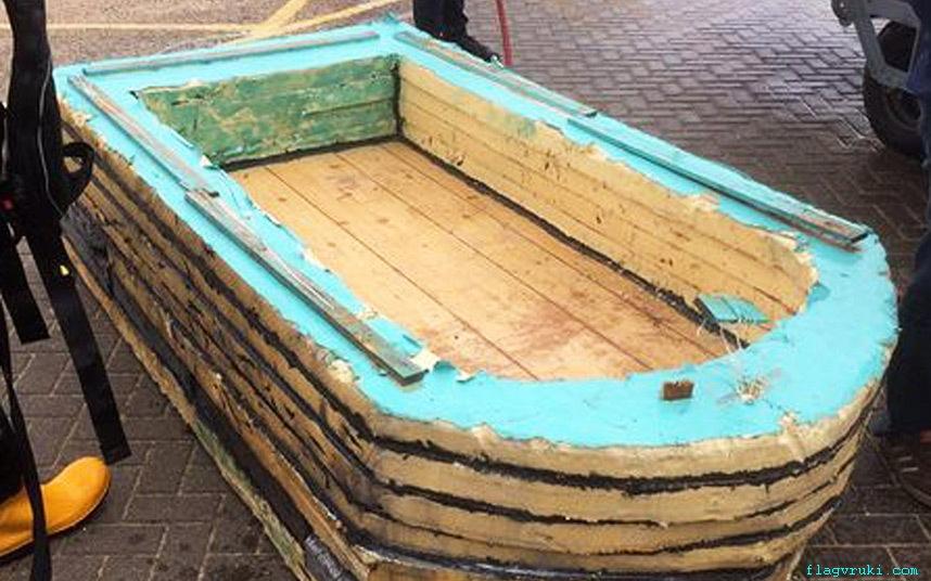 Делаем лодку своими руками из пенопласта
