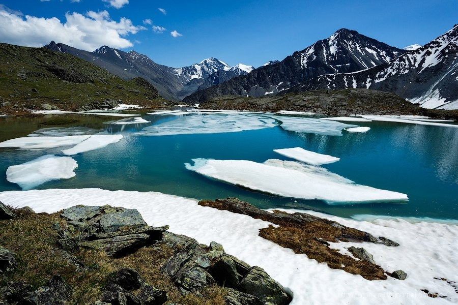 Долина Семи озёр на Алтае