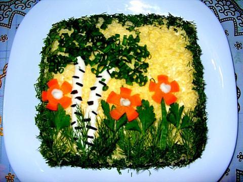 Фото оригинальных салатов и их рецепты с 186