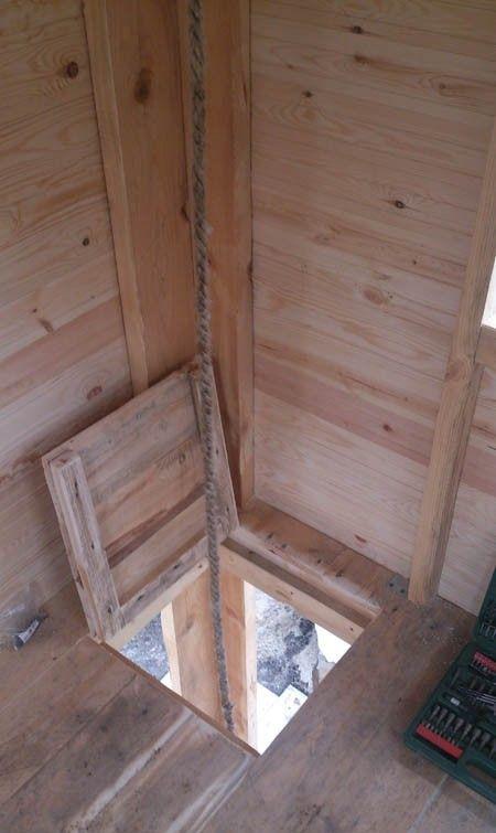 Как я построил дачный домик своими руками 41