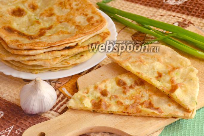 Псевдослоёные лепёшки с сыром