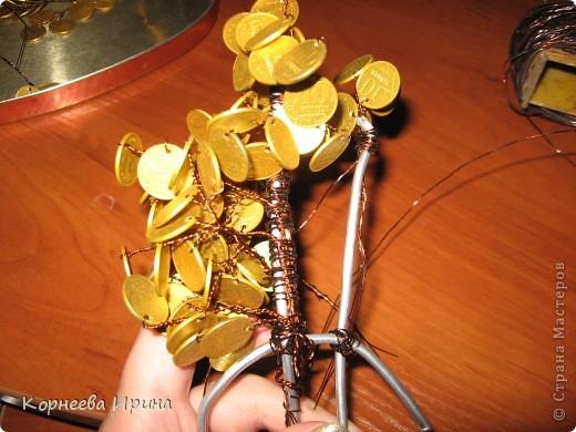 Мастер-класс День рождения Моделирование конструирование Денежное дерево МК фото 14