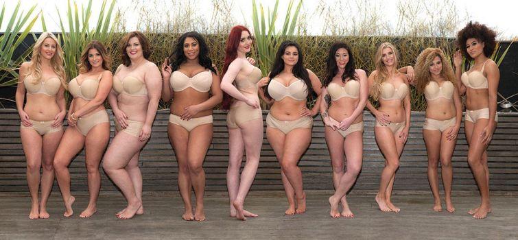 Большие и красивые: победительница конкурса на самую красивую грудь среди моделей размера плюс