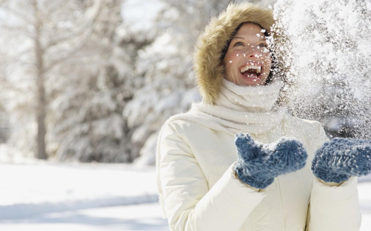 Снег о вас позаботится...