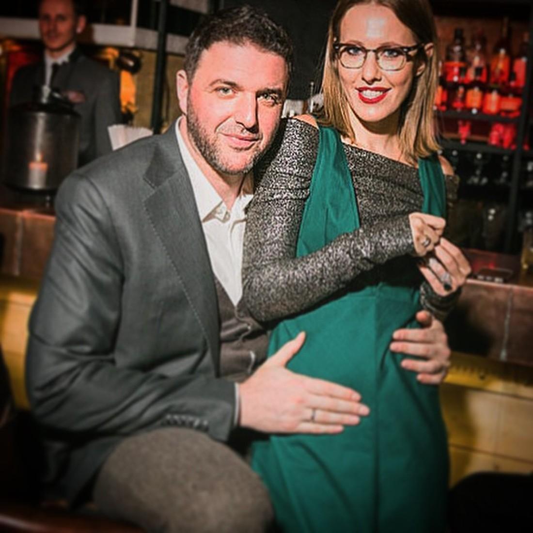 Собчак о второй беременности…