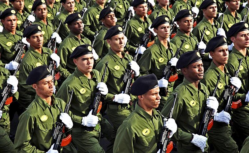 Спецназ Кубы брошен на помощь Асаду