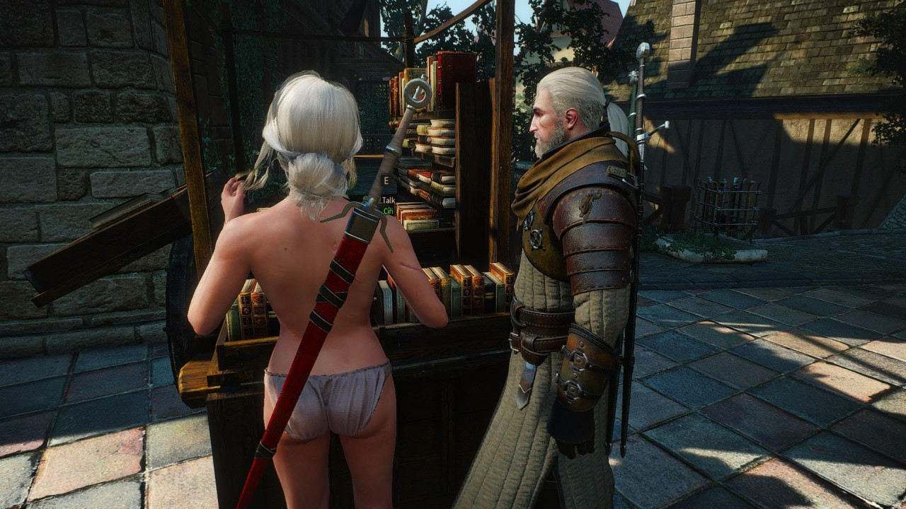 Witcher 3 monster nude mod cartoon thumbs