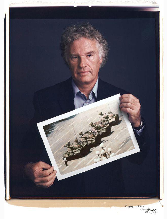 Джефф Уиденер Jeff Widener Неизвестный бунтарь 1989 год