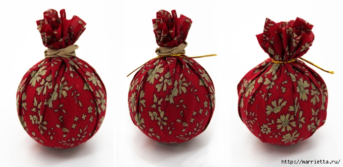Новогодние венки из елочных шаров (13) (700x342, 163Kb)