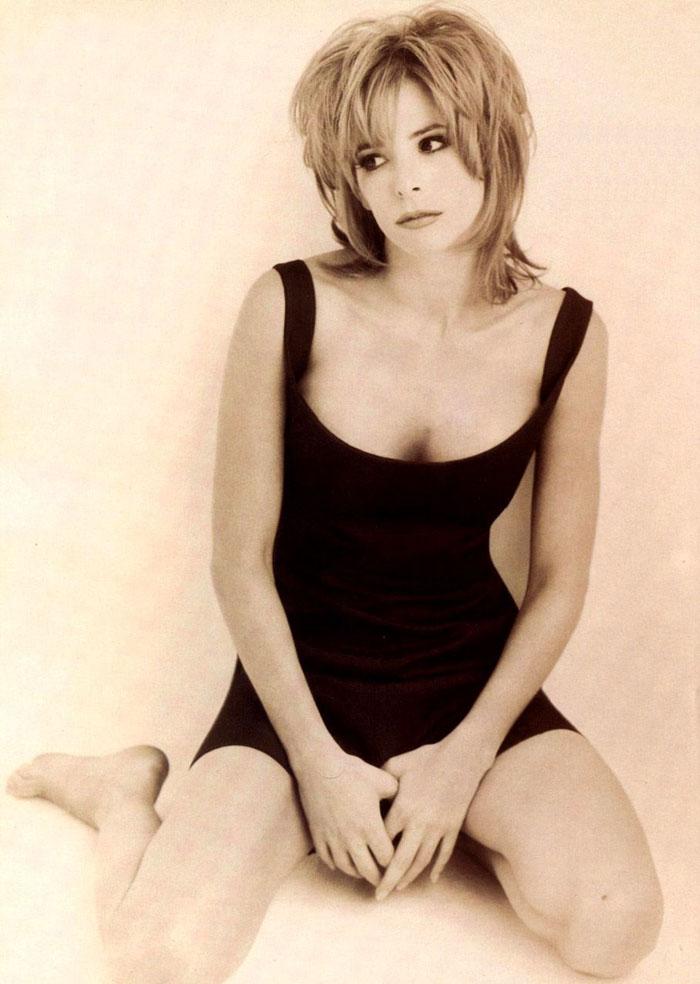 Милен Фармер (Mylene Farmer) в фотосессии Херба Ритца (Herb Ritts) для сингла L'Instant X (1995), фото 3