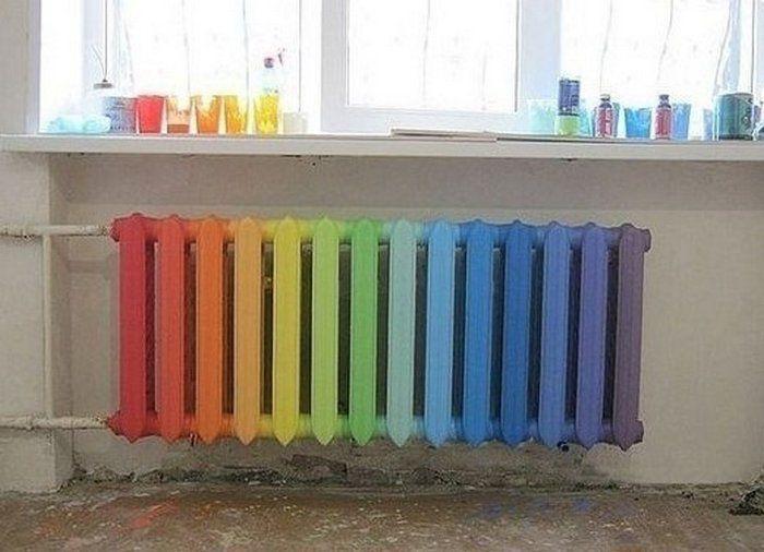 Как покрасить радиатор отопления своими руками