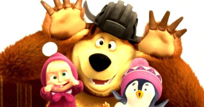 В Британии мультсериал «Маша и Медведь» назвали пропагандой Кремля, а в поведении Маши нашли черты Путина