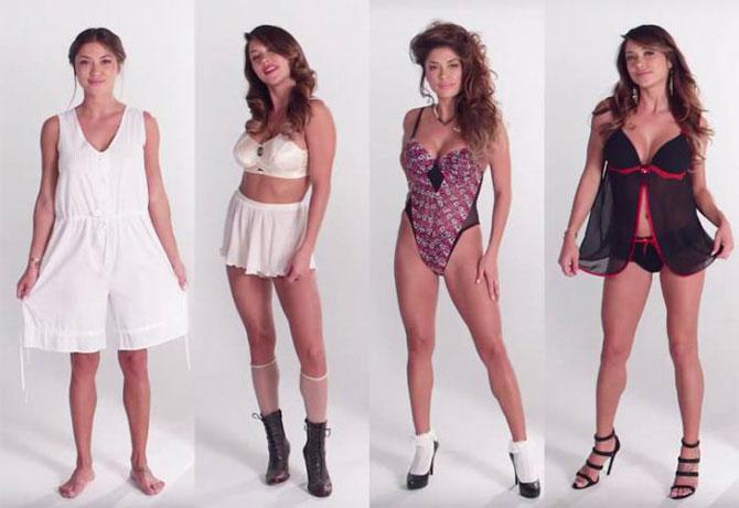 100 лет моды на женское белье