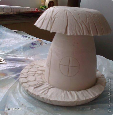 Гипсовые грибы мастер класс