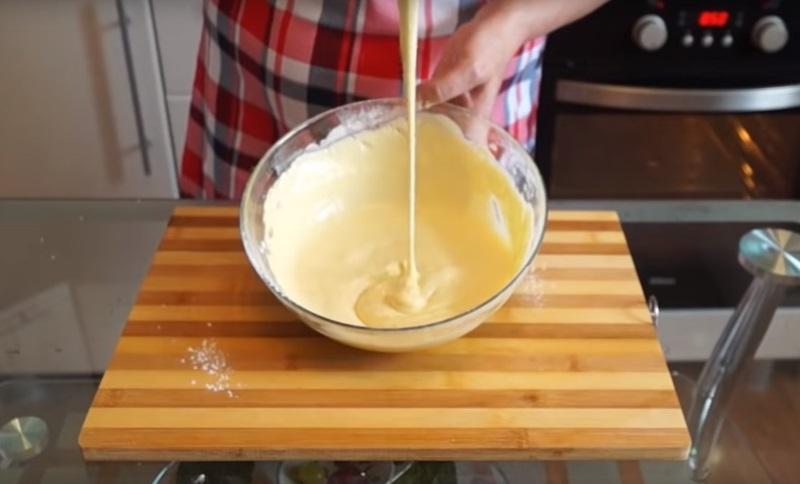 пирог с яйцом в духовке