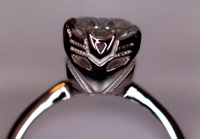 Кольцо из фильма «Трансформеры» диза, кольцо, креатив