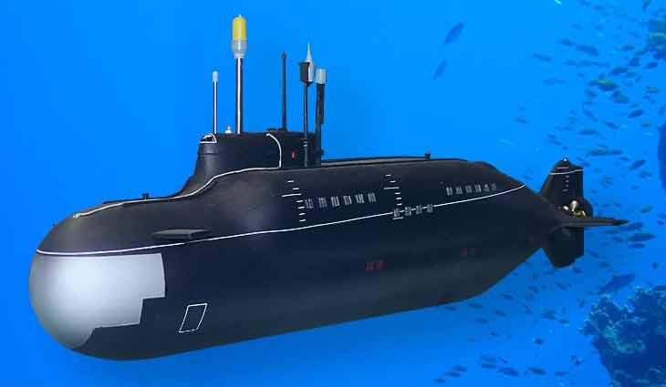 видно ли подводную лодку