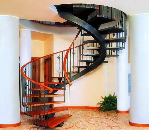Стильные варианты дизайна лестницы в доме