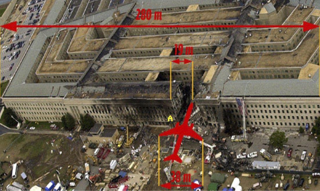 Врезался ли боинг 11 сентября 2001 года в здание Пентагона?
