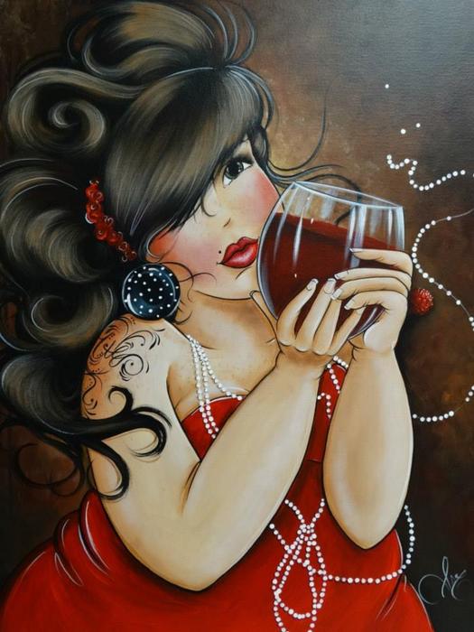 Богиня сливочной помадки... isabelle Desrochers