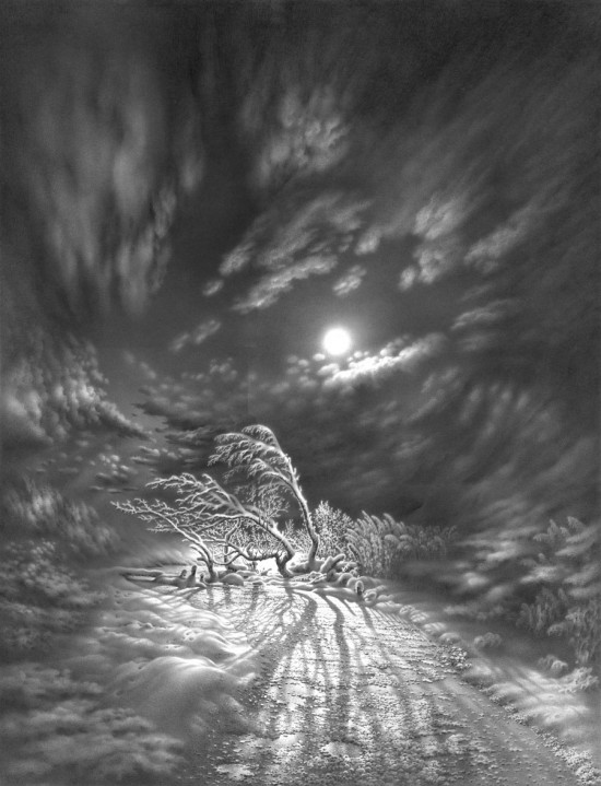 рисунки карандашом Гурам Доленджашвили - 14