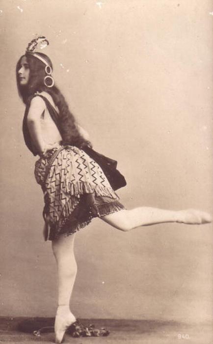 Клео де Мерод - талантливая французская балерина