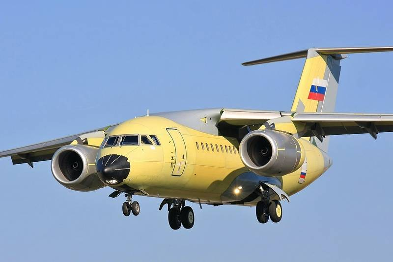 Последний в России, а возможно и в  мире. В Воронеже взлетел Ан-148-100Е