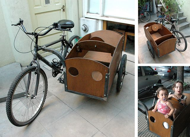 sidecar for bicycle / bike - very cool!