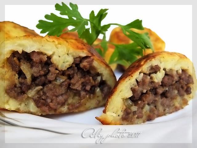 Зразы картофельные - кулинарная импровизация с пошаговыми фотографиями
