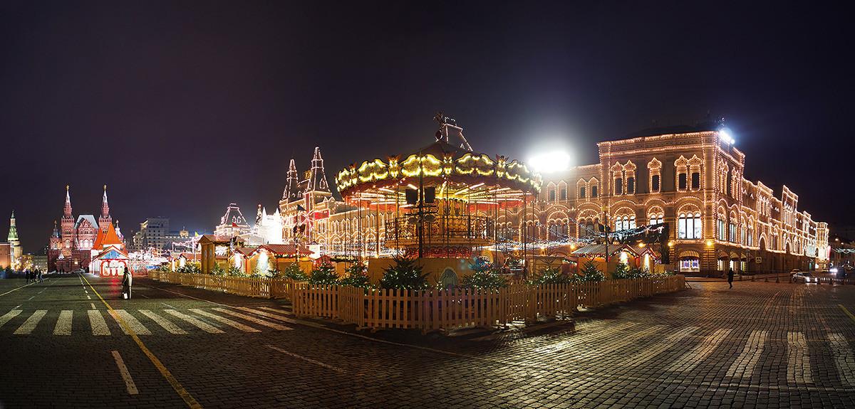 Новогодняя Москва 2014