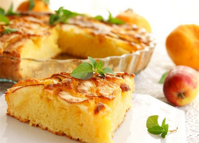 Пирог-пай «Осенние листья»