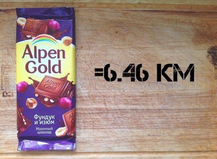Сколько километров стоят вкусняшки