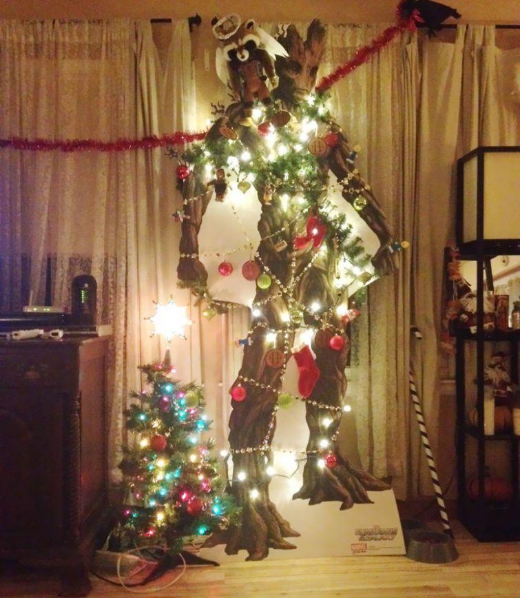 Фото новогодние елки своими руками