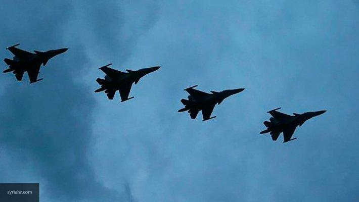 Шедшие на прорыв «акербатского котла» 2 колонны ИГ оказались на пути ВКС РФ