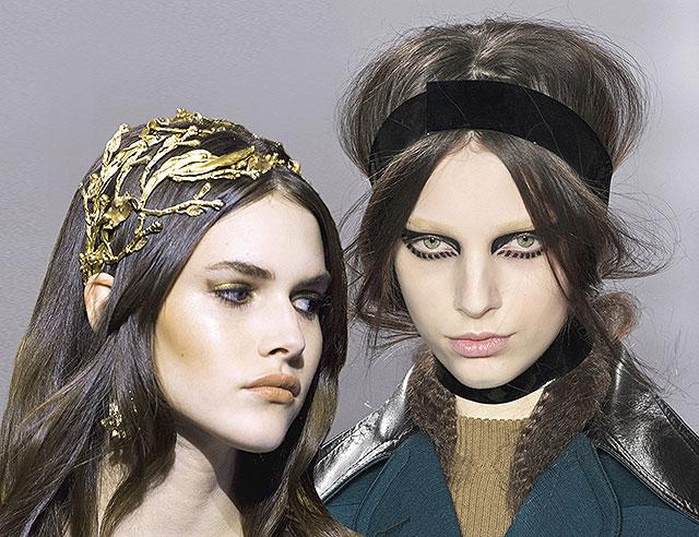Тенденция: повязки и ободки на голову