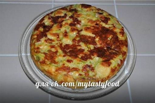 кабачковый пирог в мультиварке рецепты с фото