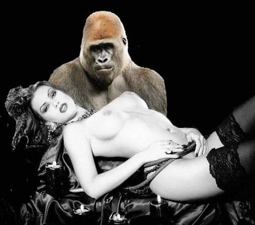 Скрещивание человека с обезьяной