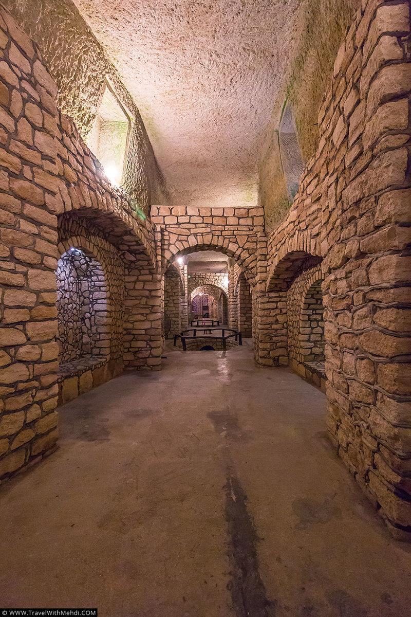 Подземный город Кариз тоже очень привлекает туристов иран, курорт, остров, персидский залив, рай на земле, туристическая столица