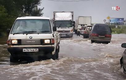 В одном из районов Приморья ввели режим ЧС из-за дождей