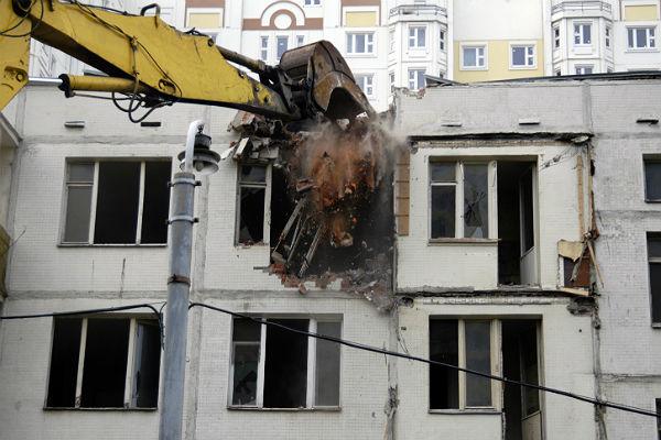 выдача квартир из сносимых пятиэтажек: