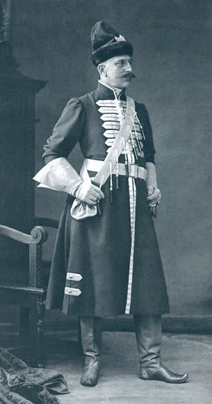 Русский генерал от кавалерии, Светлейший князь, герой русско-турецкой войны 1877 - 1878 годов