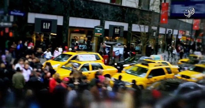 ИГИЛ опубликовал видео с угрозой устроить теракт в Нью-Йорке (3 фото)