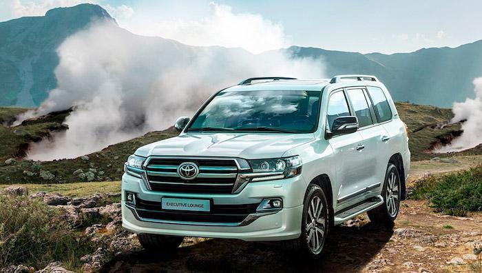 Toyota начала продажи в России самого дорогого Land Cruiser