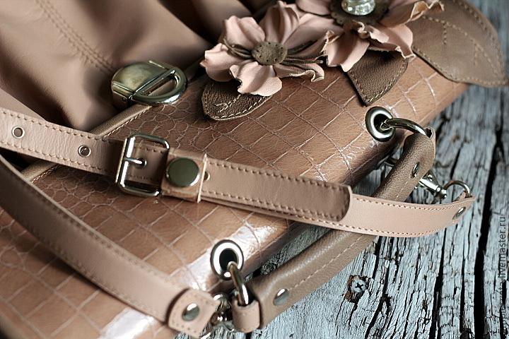 Кожаный ремешок для любимой сумки
