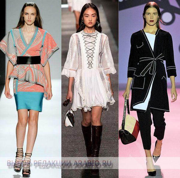 Модная одежда в японском стиле